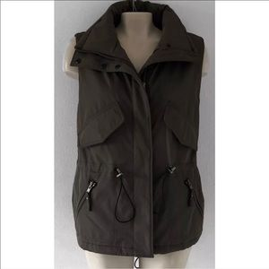 Nordstrom Jackets & Coats - S13 / NYC Army Green Warm Lined Utility Vest SZ XL